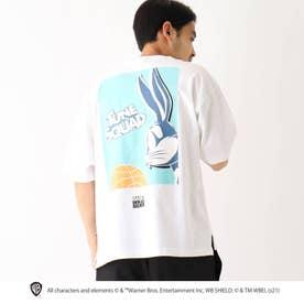 スペース・プレイヤーズ/ 新作映画グラフィック 別注バックプリント半袖Tシャツ (アイボリー)