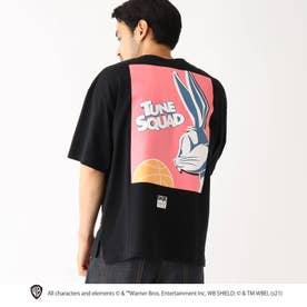 スペース・プレイヤーズ/ 新作映画グラフィック 別注バックプリント半袖Tシャツ (ブラック)