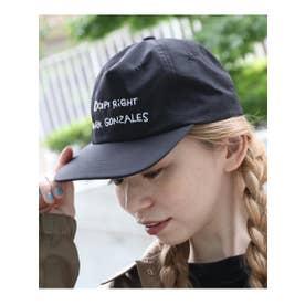 MARK GONZALES マークゴンザレス 別注 ベースボールキャップ CAP (ブラック)