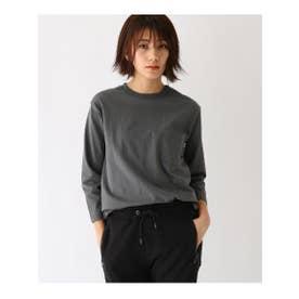 ヘビーウェイト 7分袖 Tシャツ 【WEB限定】 (チャコールグレー)