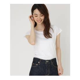 inner light rall up t-shirt (ホワイト(002))