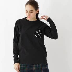 ベース コントロール 長袖 Tシャツ ニットポケット WEB限定 11255 (ブラック)