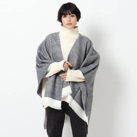 QUIOC/キオック ポンチョスカーフ (ブラック)