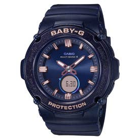 【BABY-G】Starlit Bezel Series(スターリットベゼルシリーズ) / 電波ソーラー / BGA-2700SD-2AJF / ベビーG (ネイビー)