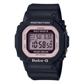 【BABY-G】電波ソーラー / BGD-5000U-1BJF (ブラック×ピンク)
