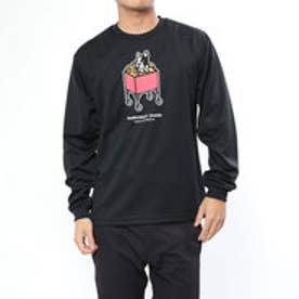 BASKETBALL JUNKY バスケットボール 長袖Tシャツ かくれんぼ+5 ロングDryTEE BSK18504