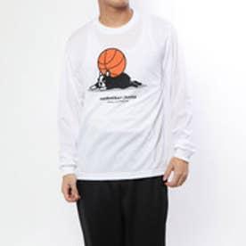 BASKETBALL JUNKY バスケットボール 長袖Tシャツ ぐでパンディアーニ+2 ロングDryTEE BSK18501
