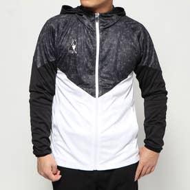 バスケットボール 長袖Tシャツ ジャンプ力+5 プラZIPパーカー CP19011