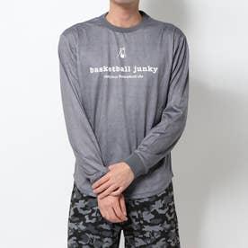 バスケットボール 長袖Tシャツ カカッテコイバスケ+5 ロングDryTEE BSK19509
