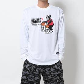 バスケットボール 長袖Tシャツ ダブル-ドリブル ロングDryTEE BSK19508
