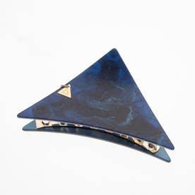 大き目サイズ 三角バンスクリップ (ネイビー)