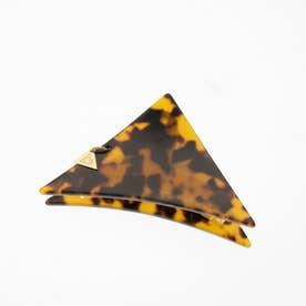 三角 バンスクリップ 小さめサイズ (ブラウン/ブラック)