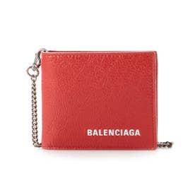 【BALENCIAGA(バレンシアガ)】二つ折り財布 (レッド)
