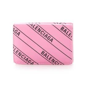 【BALENCIAGA(バレンシアガ)】3つ折財布 EVERYDAY (ピンク)