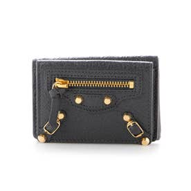 財布 折財布 ミニ コンパクト ミニ  431653 (ブラック)