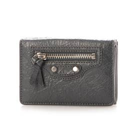 【BALENCIAGA(バレンシアガ)】財布 折財布 (グレー系)