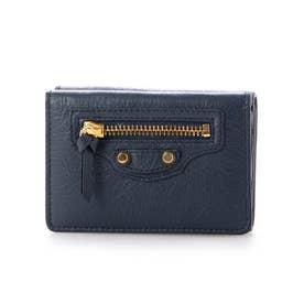 【BALENCIAGA(バレンシアガ)】財布 折財布 (ブルー)