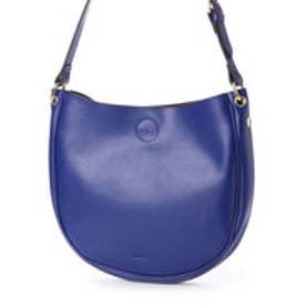 ショルダーバッグ リコ スモール 単衣 レザー (ブルー)