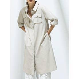 【手洗い可】BIGポケットドレス (BEIGE)