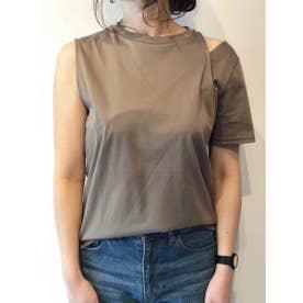 デザインTシャツ (KHAKI)