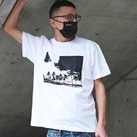 メンズ 半袖 Tシャツ WEEKEND (ホワイトB)