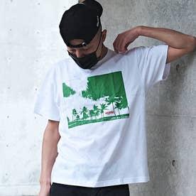 メンズ 半袖 Tシャツ WEEKEND (ホワイトG)