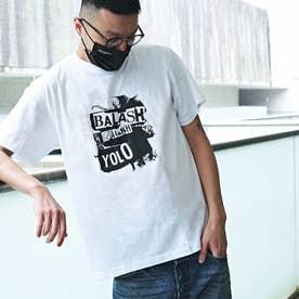 メンズ 半袖 Tシャツ (ホワイト)