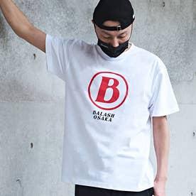 メンズ 半袖 Tシャツ B-OSAKA (ホワイト)