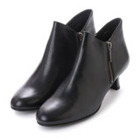 5センチヒール2E撥水ブーツ (ブラック)
