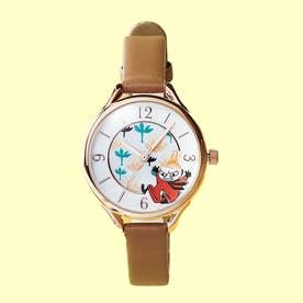 <リトルミィ>腕時計 (ブラウン)