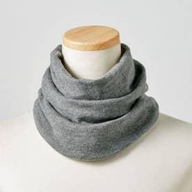 これは便利!さっと帽子に変身するスヌード (ダークグレー)