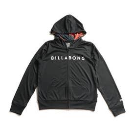 BILLABONG/キッズ UVケア ラッシュガード BB015-852 (ブラック)
