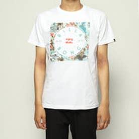 メンズ サーフ 半袖Tシャツ SQUARE LOGO TEE AJ011-203