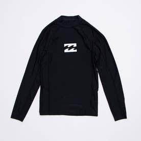 UVカットUPF50+長袖ラッシュガード BA011-851【返品不可商品】 (ブラック)