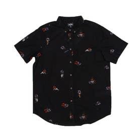 BILLABONG/半袖シャツ BB011-125 (ブラック)