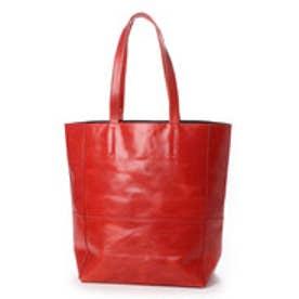 【BICASH/ビカーシ】レザーショルダーバッグ (RED)