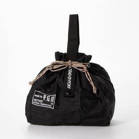 パッカブル パラシュートナイロンバッグ (BLACK)