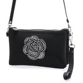 5つ口ポーチ 5-pockets pouch (カメリア/ブラック)
