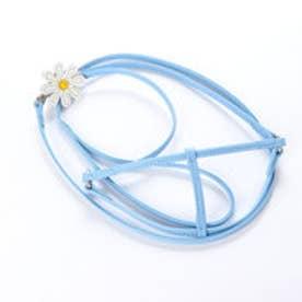 マーガレット胴輪リード M (ブルー) 【返品不可商品】