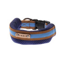 ラッセルクッションワンタッチカラー M 小・中型犬用首輪 (ブルー) 【返品不可商品】