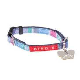 ワンタッチマルチボーダーカラー SS 小型犬用ワンタッチバックル首輪 (ブルー)【返品不可商品】