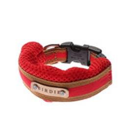 ラッセルクッションワンタッチカラー S 小型犬用首輪 (レッド) 【返品不可商品】