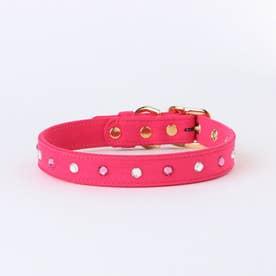 リンバーカラー 43 中型犬ウルトラスエード首輪 (ピンク)