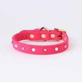 リンバーカラー 34 小・中型犬ウルトラスエード首輪 【返品不可商品】 (ピンク)
