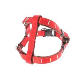 アイフレックスハーネス SM 小型犬用ワンタッチバックル足入れタイプ胴輪 【返品不可商品】 (レッド)