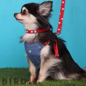 スターソフトハーネス SS 小型犬胸当て付胴輪 【返品不可商品】(ウォッシュドブルー)