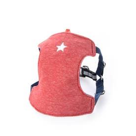 スターソフトハーネス M 小型犬胸当て付胴輪 【返品不可商品】(ウォッシュドレッド)