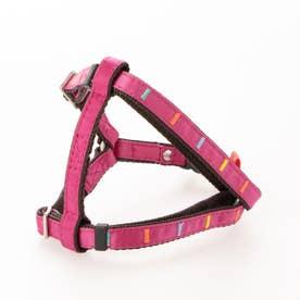 アイフレックスハーネス SS 小型犬用ワンタッチバックル足入れタイプ胴輪 【返品不可商品】 (ピンク)