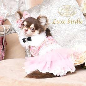 ツイードココドレス  SS ピンク (ピンク) 【返品不可商品】
