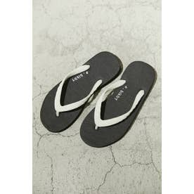 a×blkby beach sandal BLK